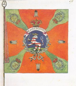 """Fahne des Füsilierregimentes """"Lossberg"""""""