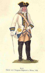 Oberst des Dragonerregimentes von Bülow