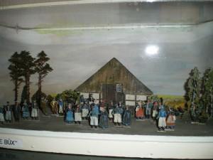 Diorama der Sammlung Münchow