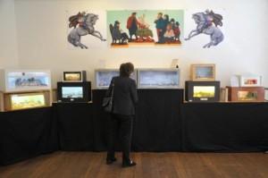Dioramen-Ausstellung