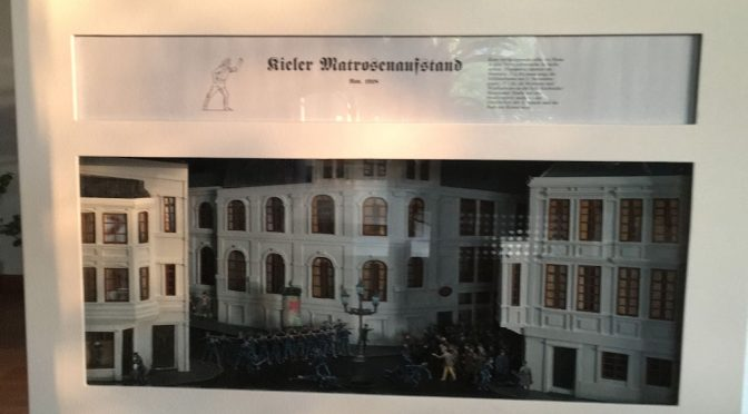 Diorama Matrosenaufstand am 03. November 1918 in Kiel