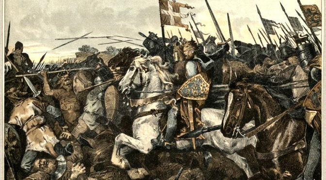 Die Schlacht bei Bornhöved 22. Juli 1227