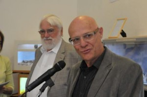 Herr Ladage, Museumsleiter