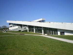 Blick auf das Museum